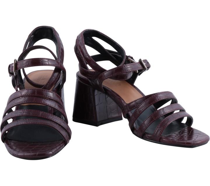 Zara Maroon Heels