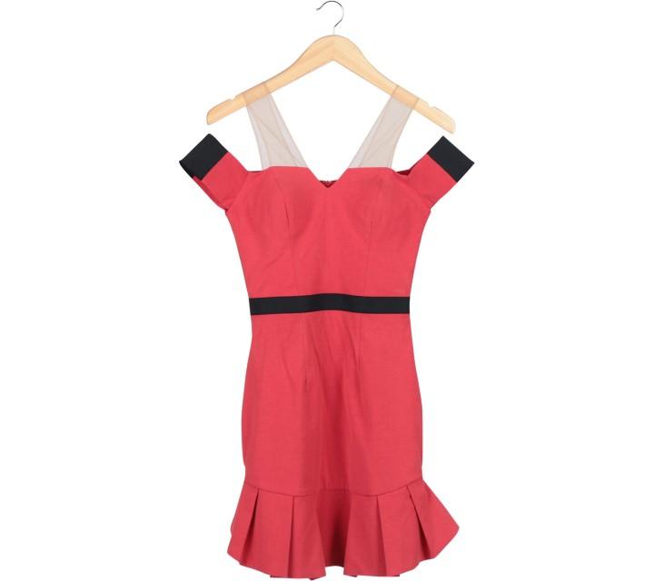 Ciel Red Mini Dress