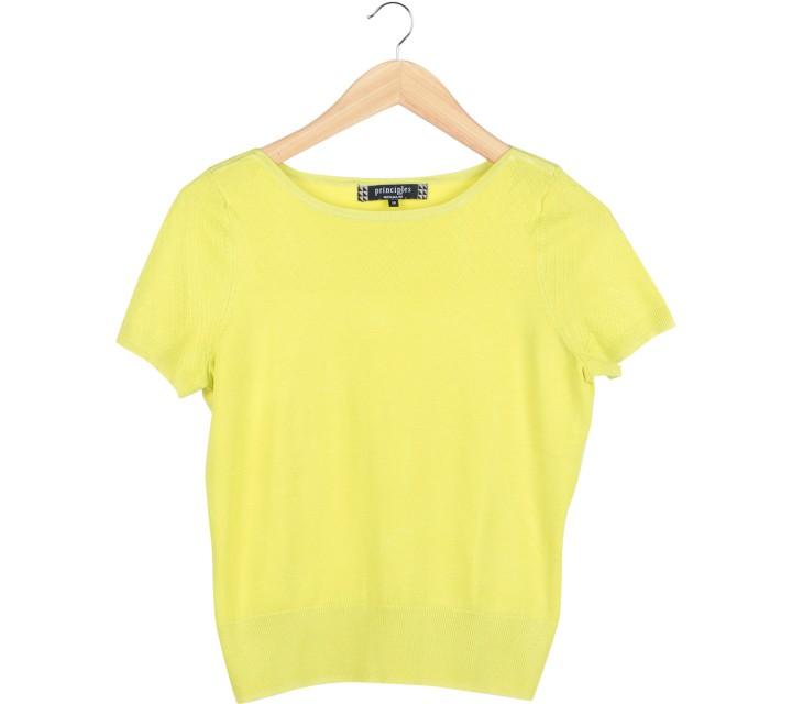 Principles By Ben De Lisi Yellow T-Shirt