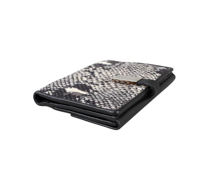 Gucci Black/White Phyton Wallet