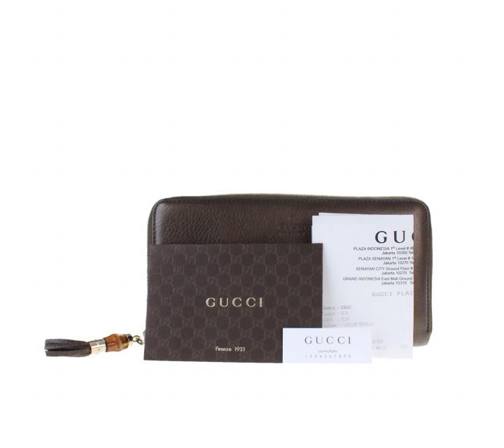 Gucci Brown Ladies Wallet