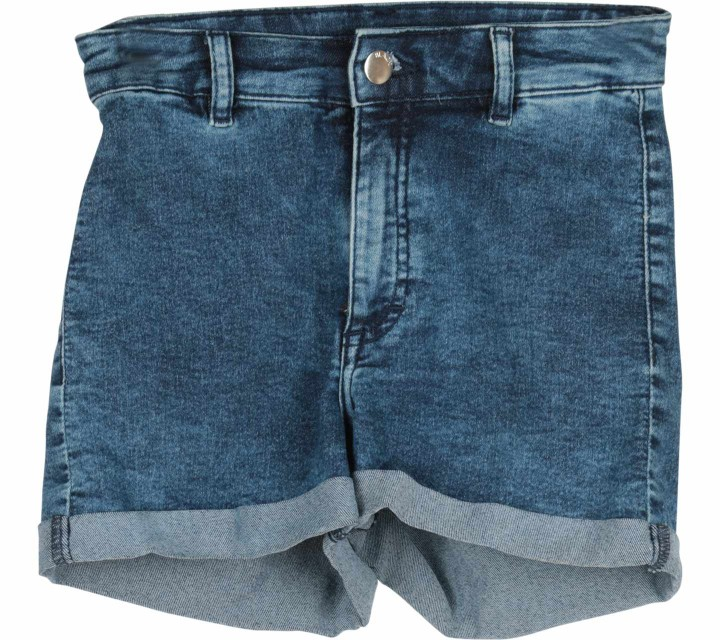 Divided Dark Blue Denim Short Pants