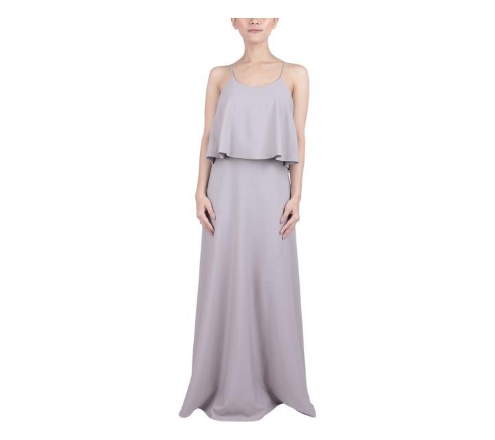 Joel Yonathan Grey Long Dress