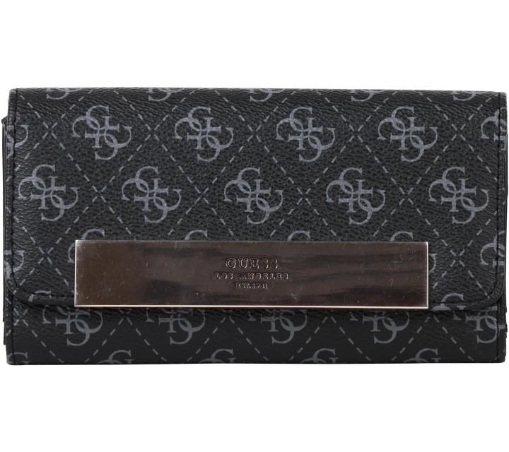 Guess Black Monogram Wallet