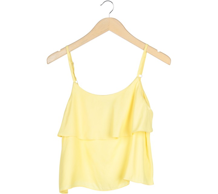 Cloth Inc Yellow Sleeveless