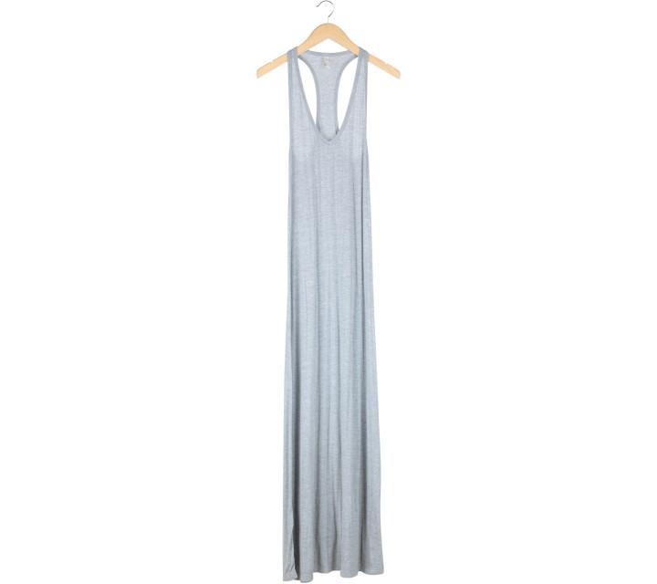 Lily Jean Grey Sleeveless Long Dress