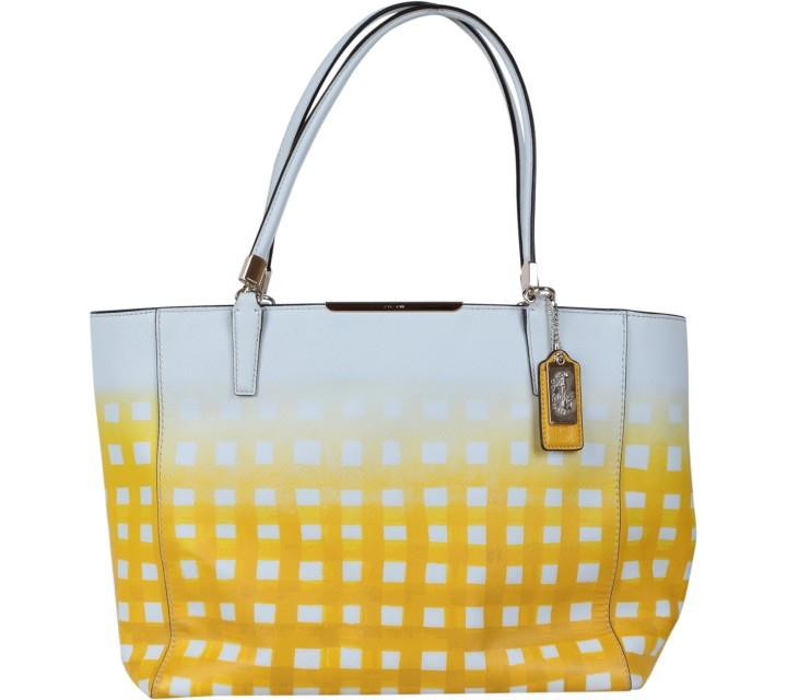 Coach Yellow Tote Bag
