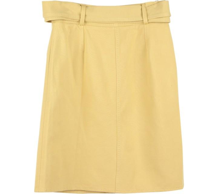 Mango Yellow Skirt