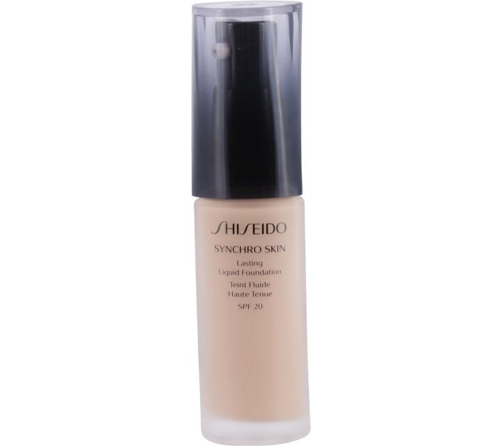 Shiseido  Rose 3 Synchro Skin Lasting Liquid Foundation Faces