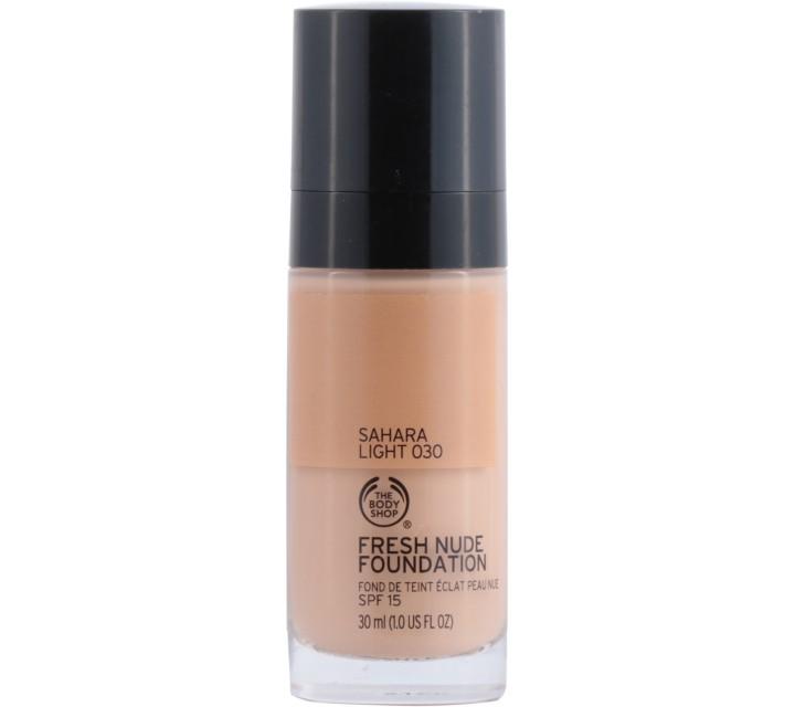 The Body Shop  Sahara Light 030 Fresh Nude Foundation Faces