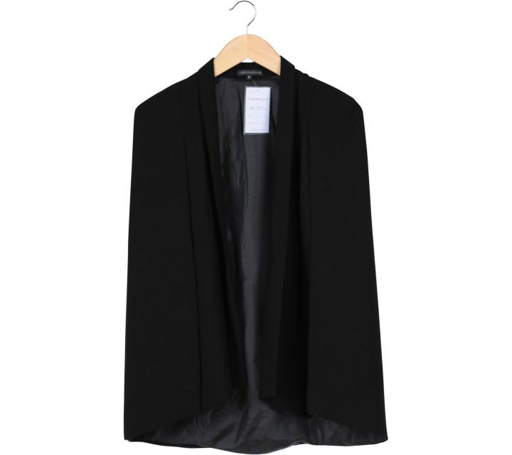 Look Boutique Black Cape Blazer