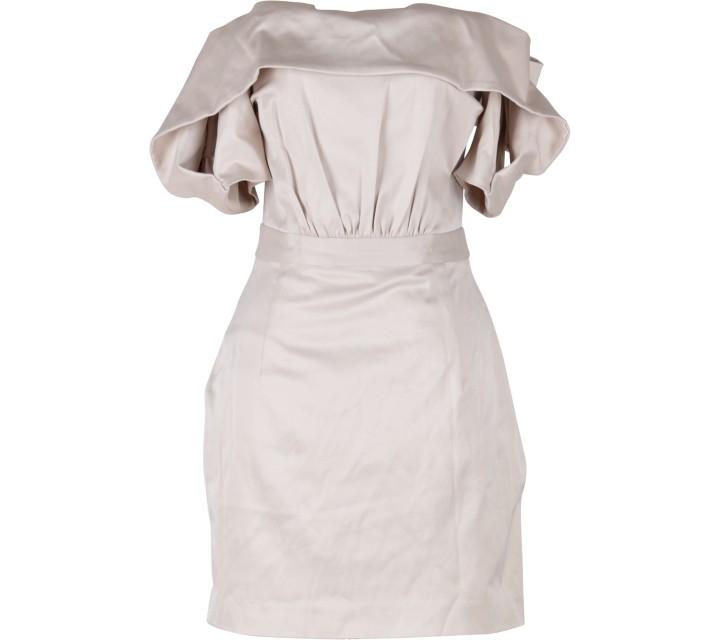 Ciel Brown Mini Dress