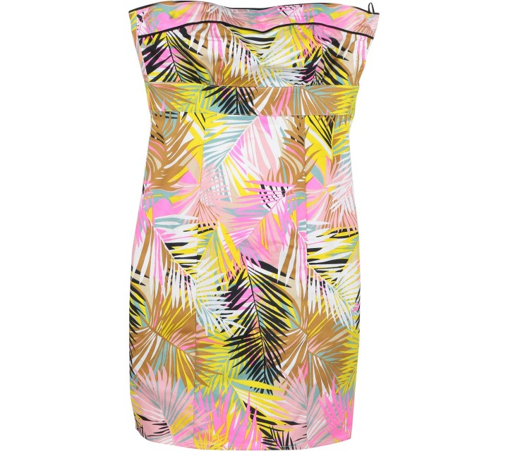 H&M Multi Colour Tube Mini Dress