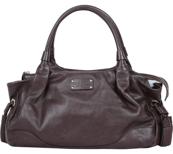 Kate Spade Brown Stevie Brooklyn Heights Chocolate  Shoulder Bag