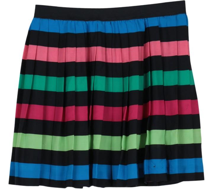 Divided Multi Colour Ruffle Skirt