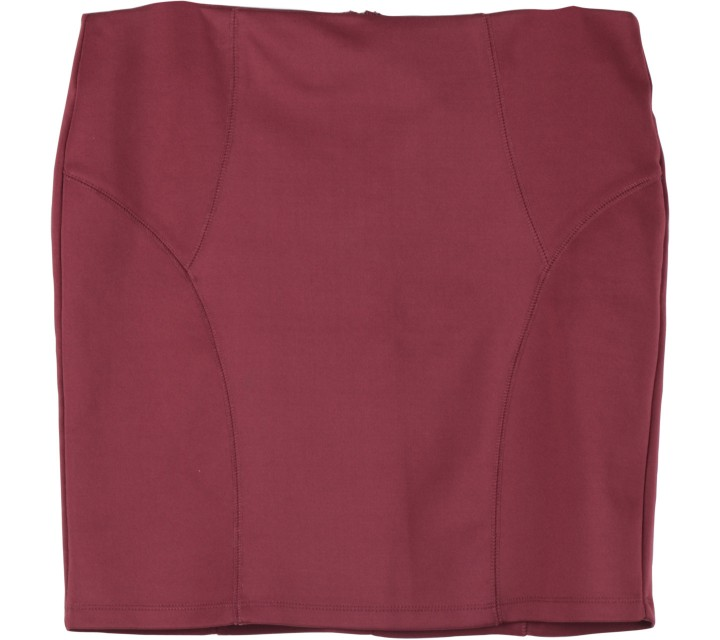 Forever 21 Maroon Mini Skirt