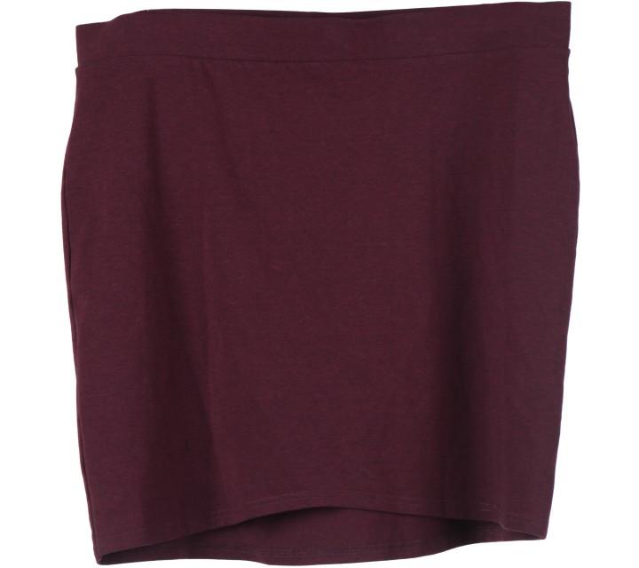 Divided Purple Mini Skirt