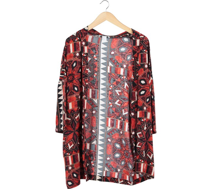 H&M Multi Colour Patterned Outerwear