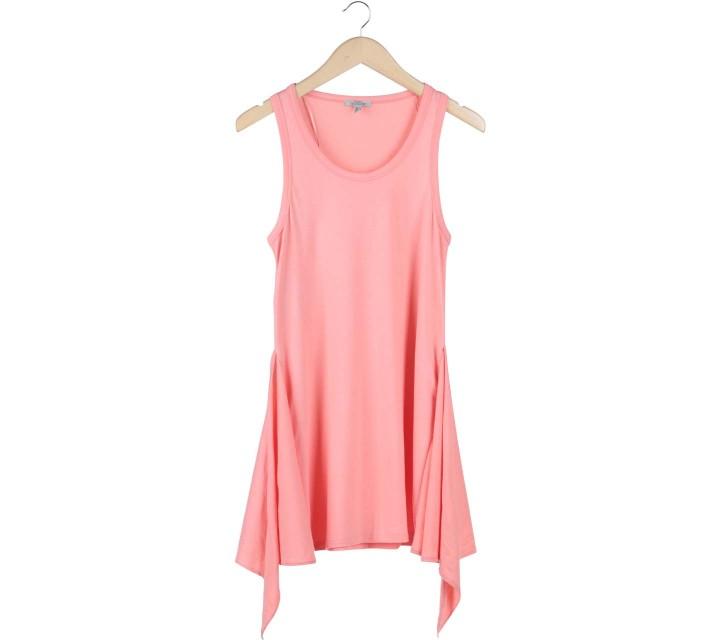 Zara Pink Tied Mini Dress