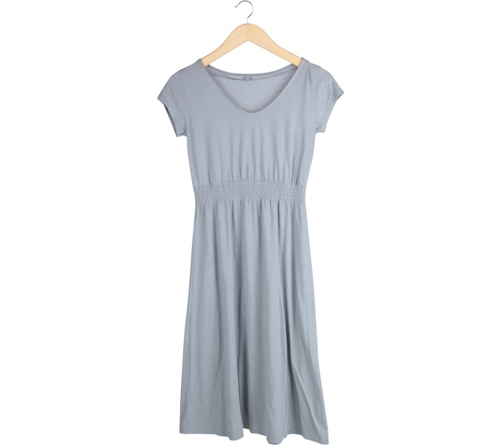 UNIQLO Grey Midi Dress