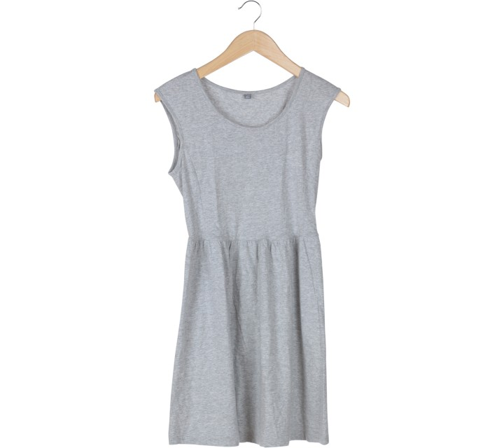 UNIQLO Grey Mini Dress