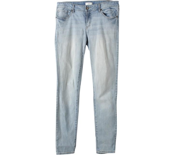 Forever 21 Light Blue Washed Pants