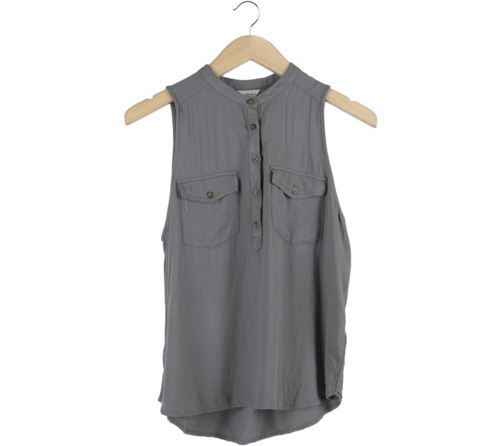 Forever 21 Dark Grey Sleeveless
