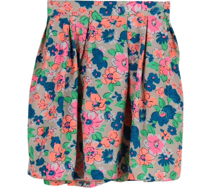 Neu´mor Multi Colour Floral Skirt