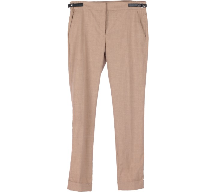 Mango Brown Pants