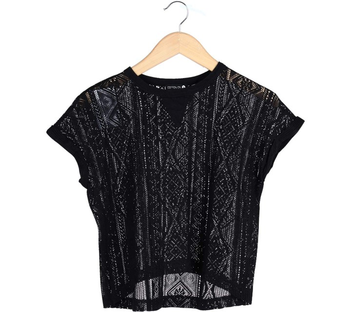 Cotton On Black T-Shirt