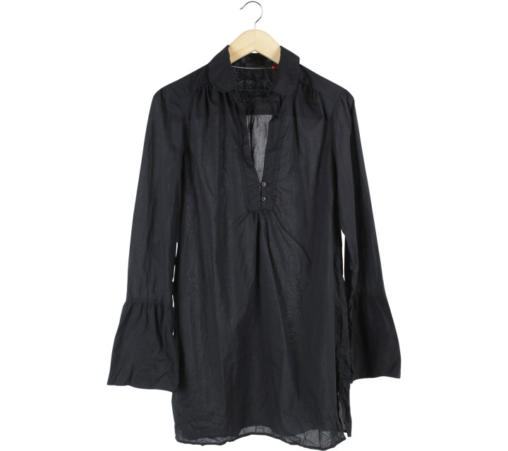 Esprit Black Tunic Blouse