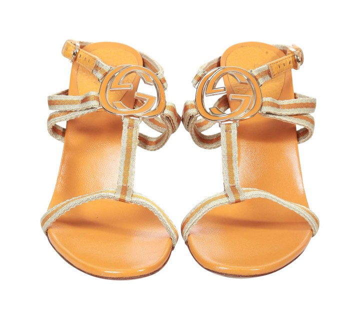 Gucci Orange Sandals