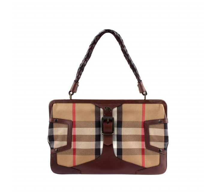 Burberry Brown Prorsum Shoulder Bag