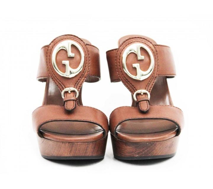 Gucci Brown Sandals