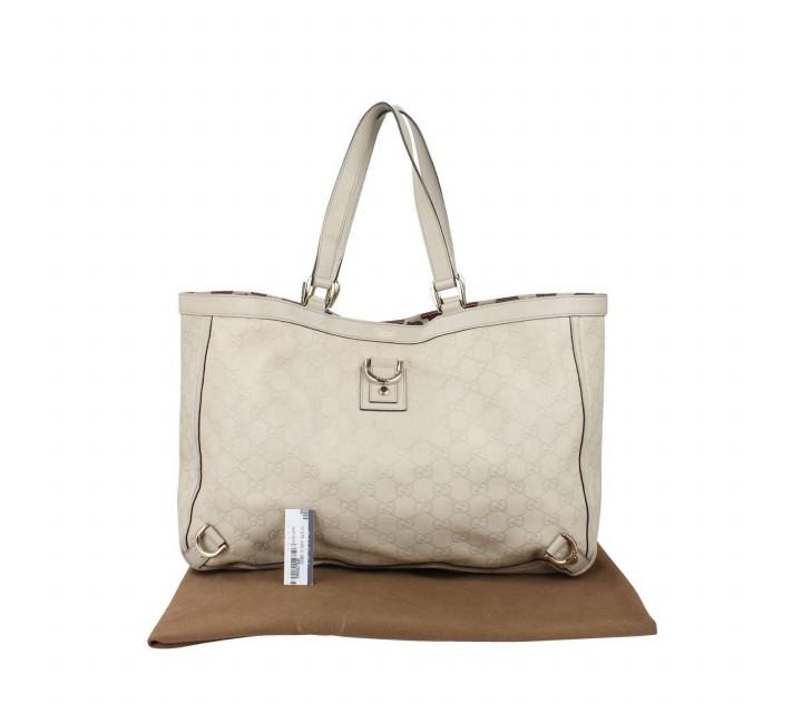 Gucci White Shoulder Bag