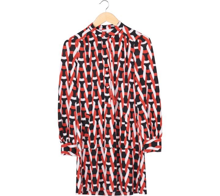 Diane Von Furstenberg Multi Colour Mini Dress
