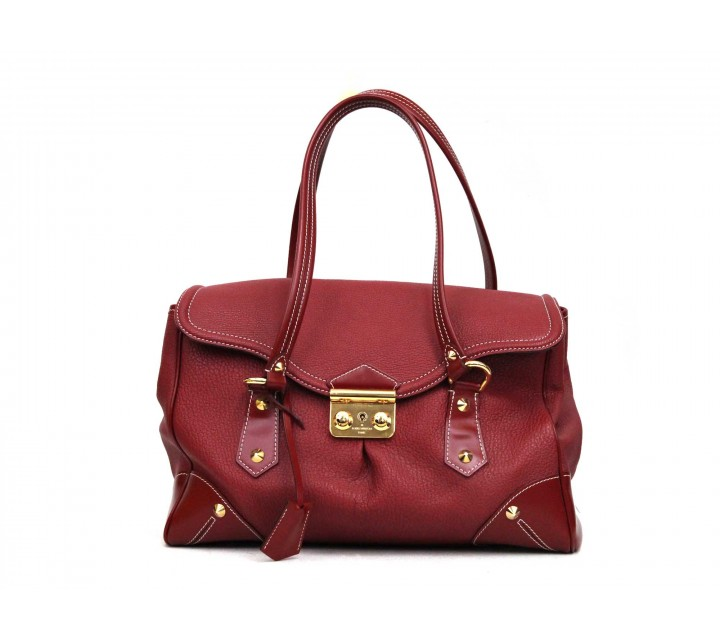 Louis Vuitton Red Tote Bag