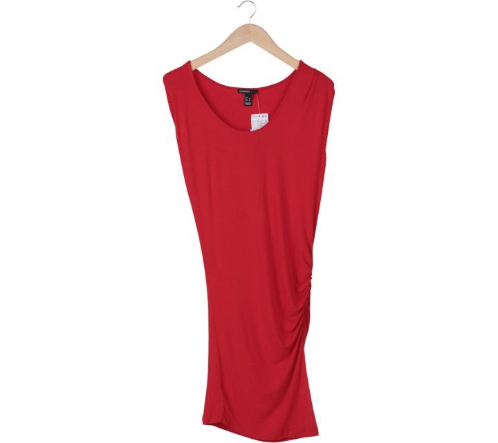 Mango Red Midi Dress
