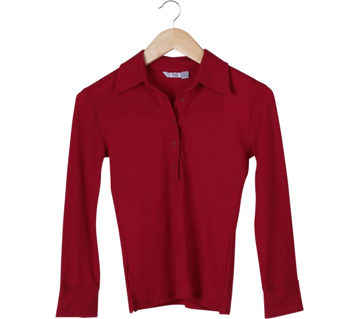 Mango Red Shirt