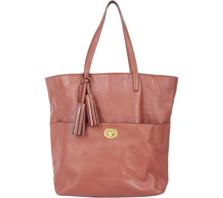 Coach Brown Tote Bag