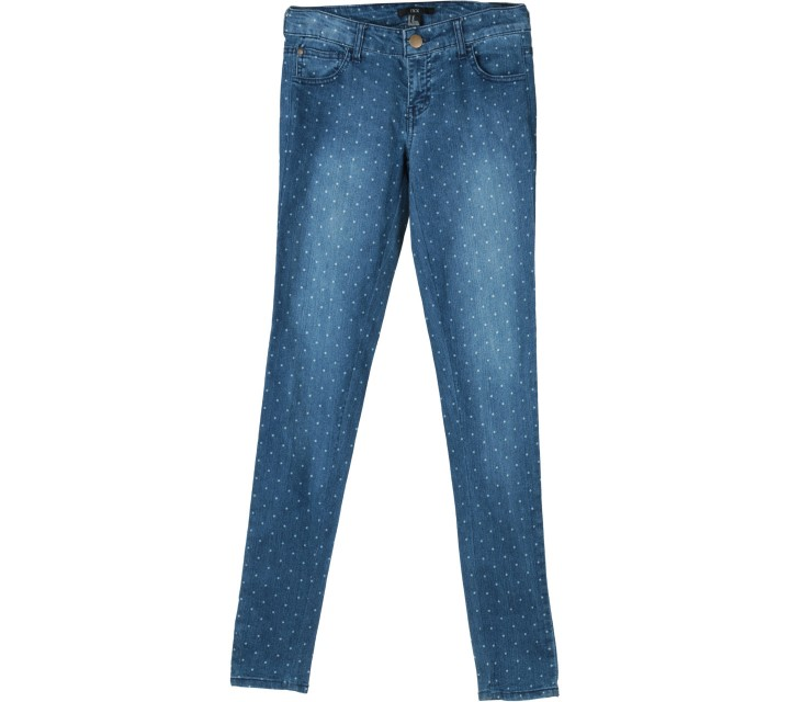Forever 21 Blue Polka Dot Pants