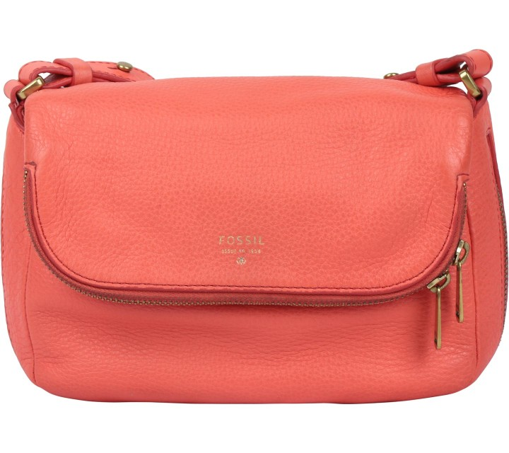 Fossil Orange Sling Bag