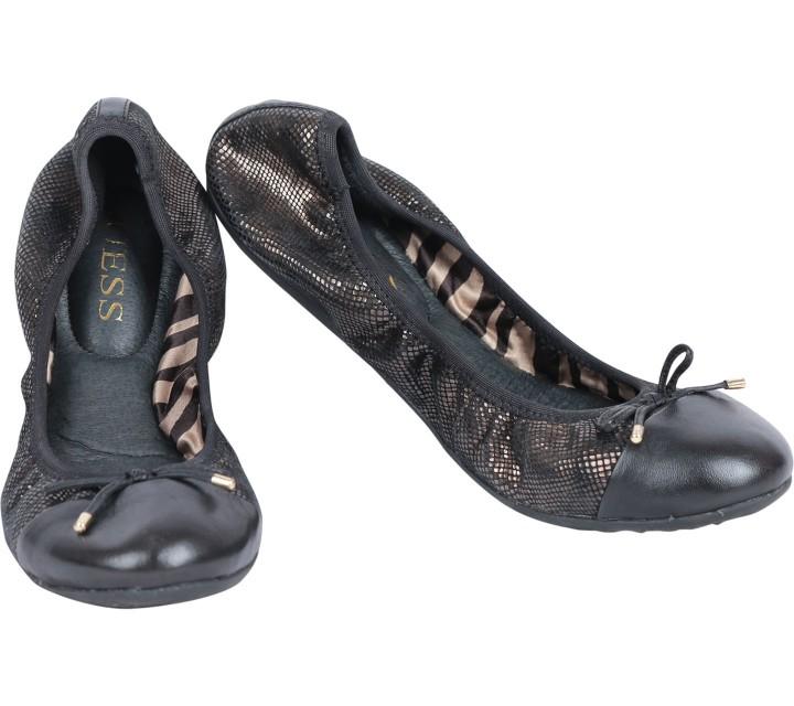 Guess Bronze Metallic Farol Ballet Flats