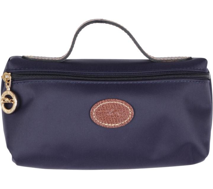 Longchamp Purple Myrtille Wallet Pouch
