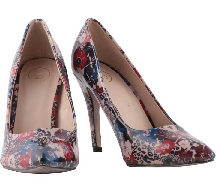 Lazada Multi Colour Floral Heels