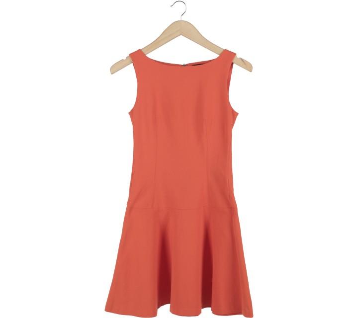 Zara Orange Mini Dress