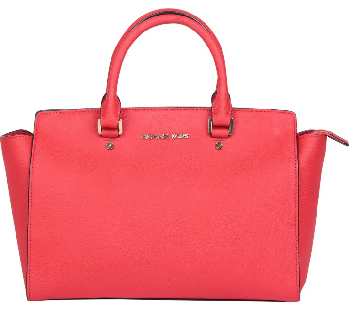 Michael Kors Orange Satchel