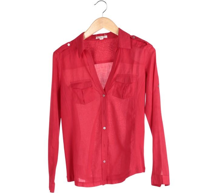 Mango Red Shirt