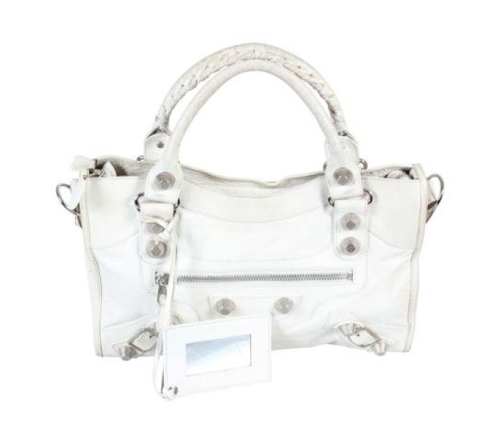 Balenciaga Off White Giant City Tote Bag