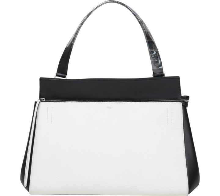 Celine Black And White Handbag